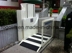 Vertical Wheelchair Stair Lift for Disabled People Home Man Lift pictures & photos