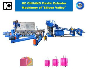 ABS, PC Material Luggage Bag Making Machine in Production Line pictures & photos