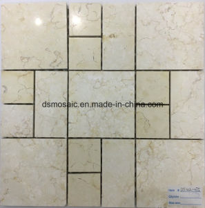 Emperador Marble Stone Mosaic Tile (DS122-075) pictures & photos