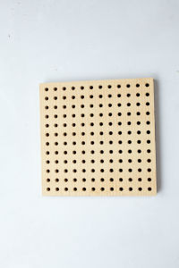 Wooden Perforated Acoustic Panel (28/4)