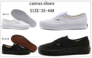 Classic Injection School Canvas Shoes (VAN -1231) pictures & photos