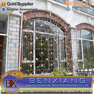 Factory Price Wrought Iron Window Grills pictures & photos