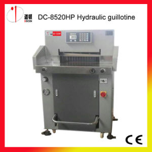 520mm Automatic Paper Cutting Machine, Hydraulic Paper Guillotine Cutter pictures & photos
