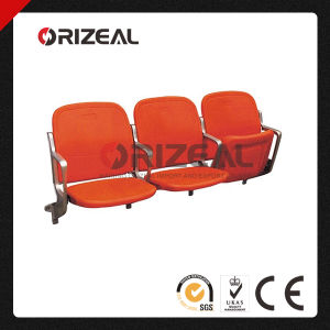Riser Mount Foldable Plastic Seats for Stadium & Arena, Folding Spectator Chair pictures & photos