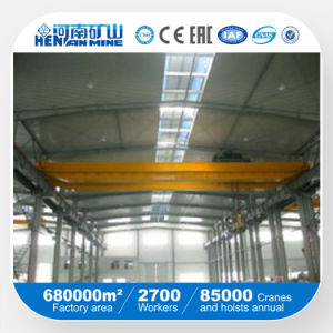 Hot Sale Sq Type Hand Driving Double Beam Crane pictures & photos