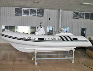 Inflatable High Speed Hypalon Boat 420 Ce pictures & photos