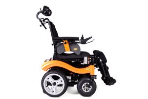 New Design Multifunction Power Wheelchairs with Al Frame pictures & photos