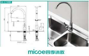 Gooseneck Deck Mounted Kitchen Faucet (100b) pictures & photos