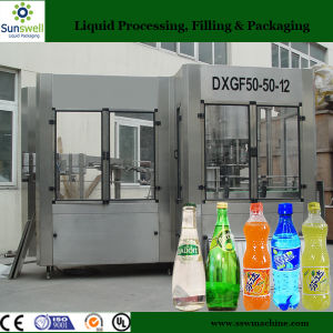 Fully Automatic 3 in 1 Soda Water Bottling Machine for Carbonated Beverage Filling Factory pictures & photos