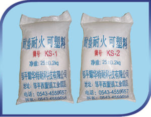 Abrasion Resistant Plastic Refractory