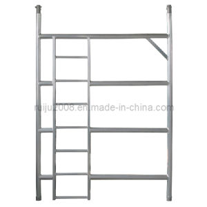 4 Rung Aluminum Frame with Ladder pictures & photos