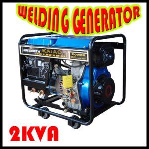Open Frame Diesel Welding Generator (KDE6500EW) pictures & photos