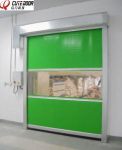 High Quality Durable Fast Roller Shutter Door Plastic Interior Door pictures & photos