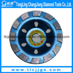 Hot Pressed Sintered Diamond Cup Grinding Wheel pictures & photos