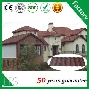 Nigeria Warehouse Stone Coated Metal Roof Tile Roofing Material Quality Assurance pictures & photos