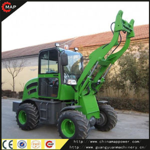 4WD 0.8t Mini Wheel Loader, Mini Loader Zl08f pictures & photos