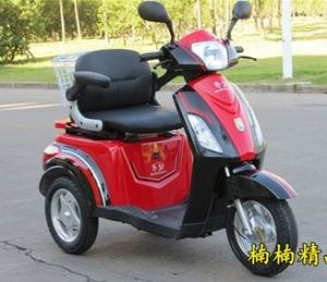 CE 3-Wheel Disable/Mobility Electric Scooter with Magnetic Brake