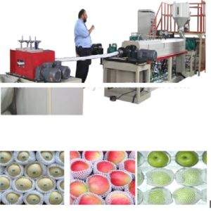 Expanding Plastic Fruit Mesh /Net Making Machine