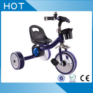 2017 New Deisgn Flashing Light Wheels Baby Tricycle pictures & photos