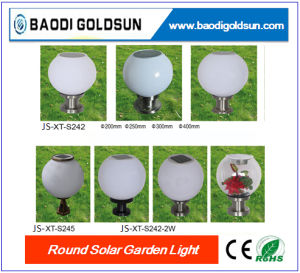 Solar LED Round Sphere Light with Digital Controller Switch Button pictures & photos