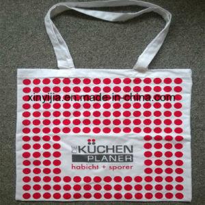 Oeko-Tex Standard Cotton Shopper Bag with Long Handles pictures & photos