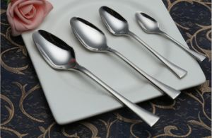 304 /18-10 Mirror Polished Stainless Steel Spoon for Tableware (C031)