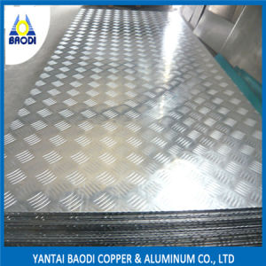 Five Bar Checkered Aluminum Plate 5052 pictures & photos