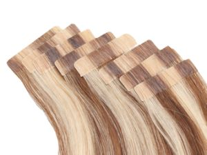 100% Human Remy Seamless Skin Tape Weft Hair Human Hair Extension pictures & photos