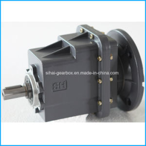 Helical Geared Motor Flange Mounted with Electric Motor pictures & photos