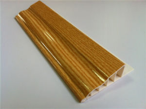 PVC Wall Skirting Profile Line Skirting Corners (RN-90) pictures & photos