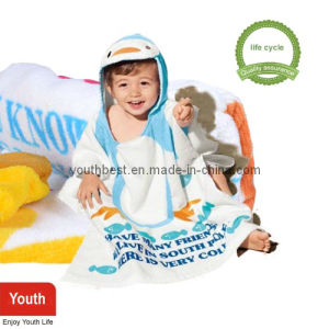 Beach Towel with Hood for Kids