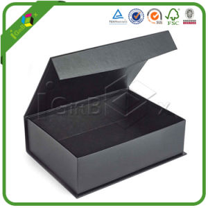 Wholesale Custom Logo Small Black Printed Printing Rigid Paper Cardboard Packaging Gift Box pictures & photos