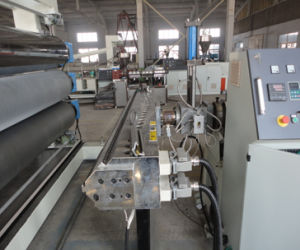 PS/PP/PE/ABS/PMMA/PC Plastic Sheet Extrusion Production Line pictures & photos