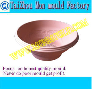 Plastic Injection Mold for Decoration Custom Flowers and Plants Pot pictures & photos