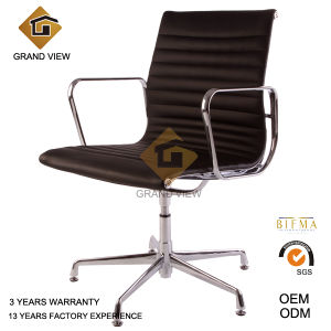 Hot Selling Black Leather Conference Swivel Office Chair (GV-EA108) pictures & photos