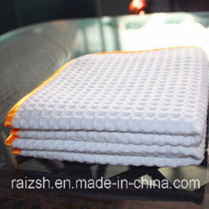 Microfiber Cleaning Cloth Towel Pineapple Grid pictures & photos
