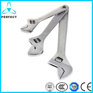 American Style Chrome Plated Adjustable Wrench pictures & photos