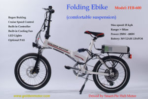 Programable CE Fast 20 Inch 400W Foldable Electic Bicycle pictures & photos