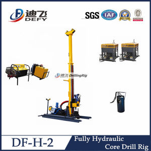 Full Hydraulic Wireline Core Drilling Rig pictures & photos
