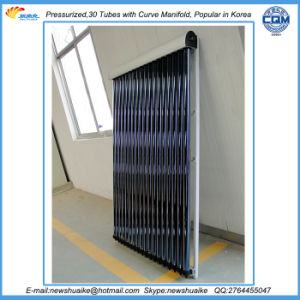 Pressurized Vacuum Tube Solar Collector Exported