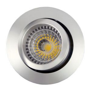 Lathe Aluminum GU10 MR16 Round Tilt Recessed LED Ceiling Light (LT2202A) pictures & photos