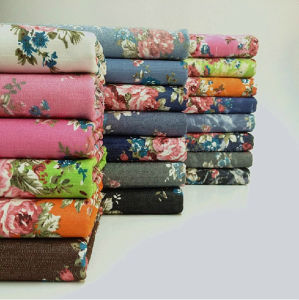 Rayon Printed Fabric pictures & photos