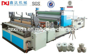 Automatic Kitchen Towel Roll Making Machine pictures & photos