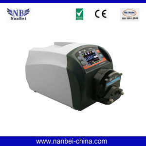 Bt100L LCD Display Intelligent Flow Peristaltic Pump pictures & photos