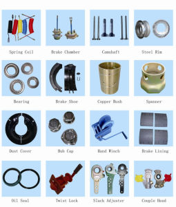Trailer Parts and Axle Parts pictures & photos