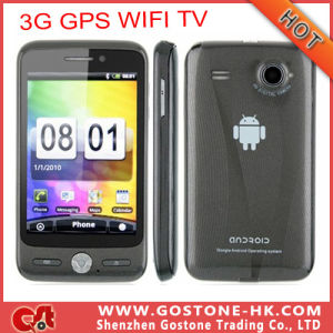 "3.5""Capacitive Touch Screen Android V2.3 Mtk6573 GPS Bluetooth TV WiFi GPS Mobile Phone"