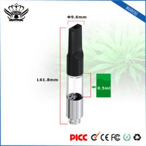 Hottest Bud (S) High-Transparent Tank 0.5ml Hemp Oil Vape Pen Vaporizer Cbd Cartridge pictures & photos