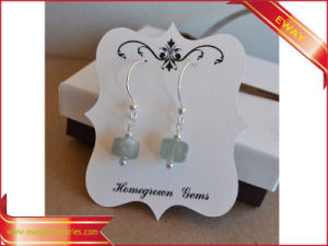 OEM Printed Jewelry Earring Paper Hanging Display Cards pictures & photos