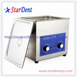 10L Stainless Steel Digital Tabletop Ultrasonic Cleaner of Dental Instrument pictures & photos