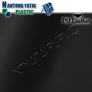 High Elastic PU Embossed Synthetic Leather with Back Coating for Auto Seats